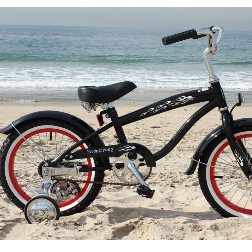 "Firmstrong Mini Bruiser 16"" Beach Cruiser Bicycle"