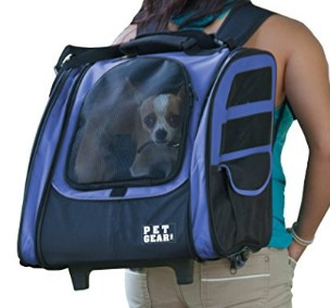 Pet Gear IGO2 Traveler Backpack Pet Carrier