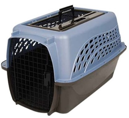 Petmate Two Door Top Load Pet Kennel – 5 Color Options, Steel and Plastic construction