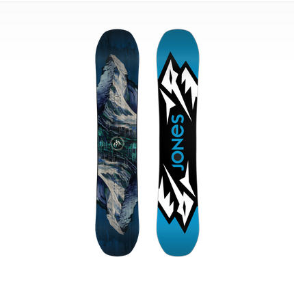 Jones Snowboards Mountain Twin w/ Triax Fiberglass