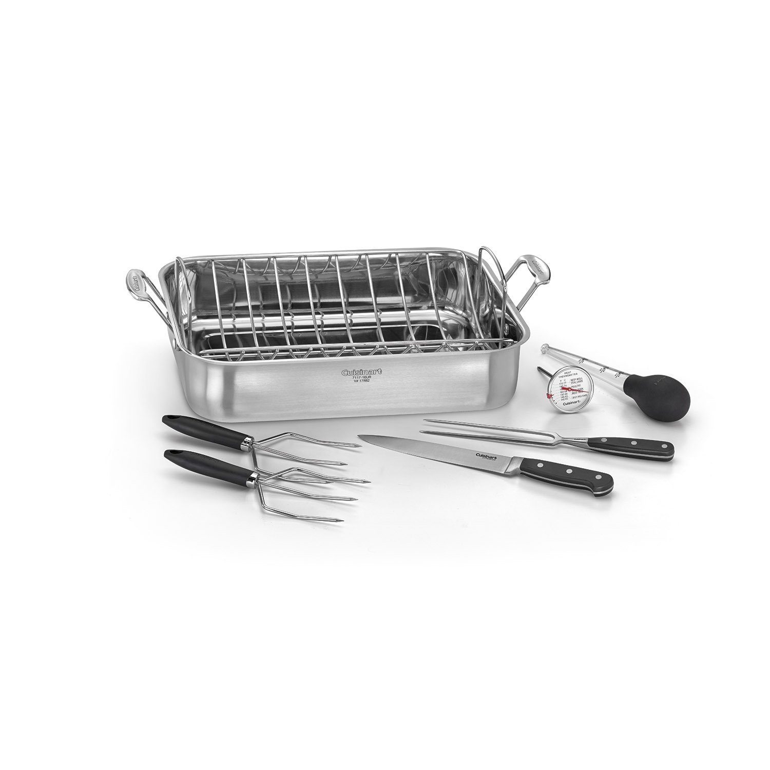"Cuisinart 16"" Roasting Pan with Rack"