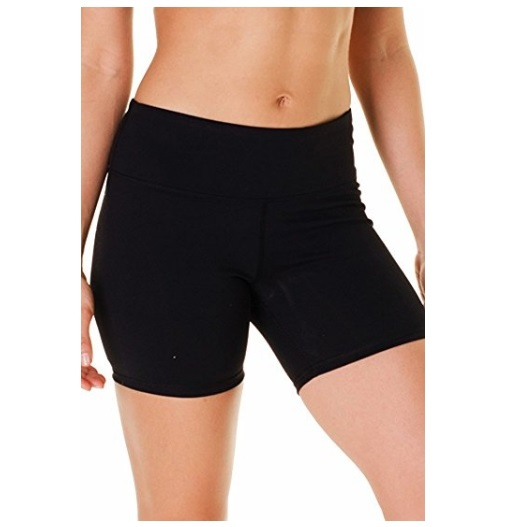 90 Degree By Reflex Power Flex Shorts in Black