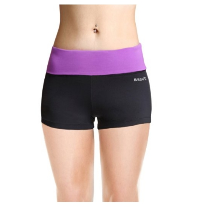 Baleaf Women's Boy Cut Shorts for Running, Fitness, Dancing