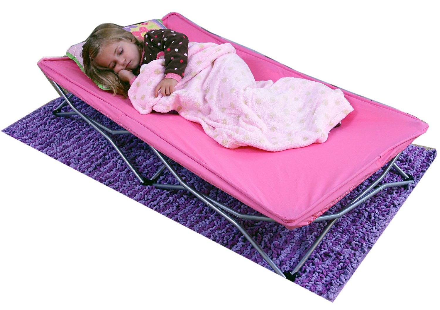 Regalo Pink My Cot Portable Toddler Bed