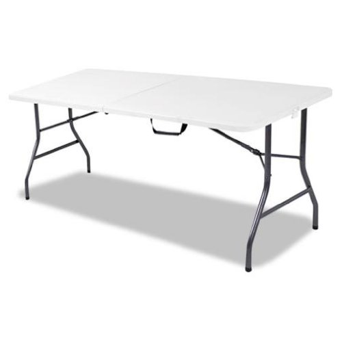 Cosco Products Centerfold Folding Table, 6-Feet, Weather Resistant and Moisture Proof