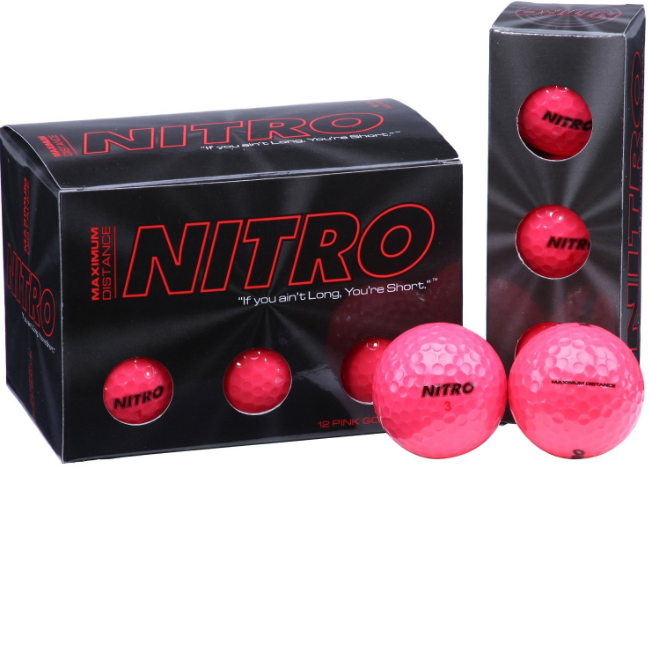Nitro Maximum Distance Golf Ball (12 Pack)