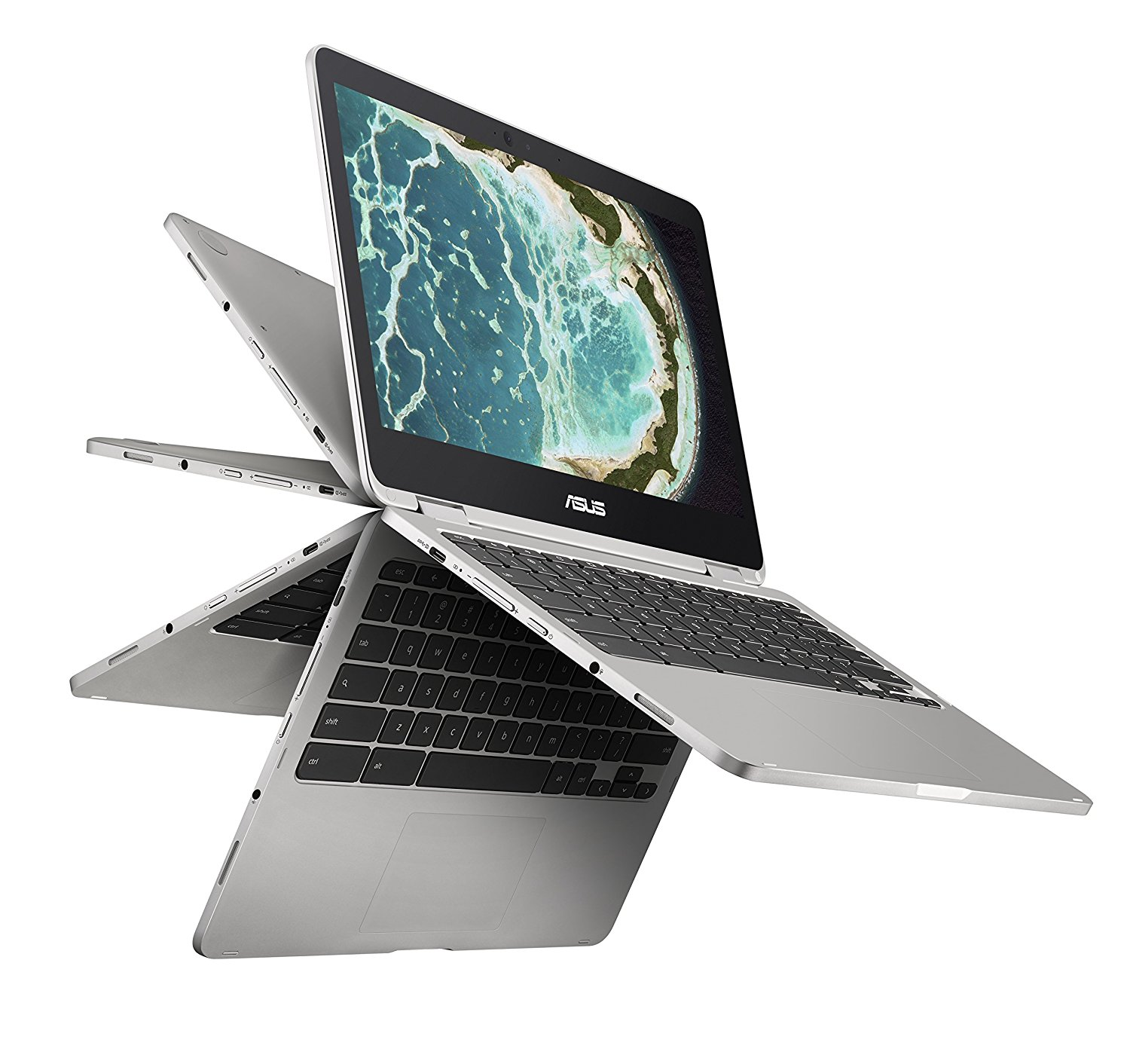 ASUS Chromebook Flip - Available in Core m3, Core m3 + G Suite Trial & Core m5 Styles