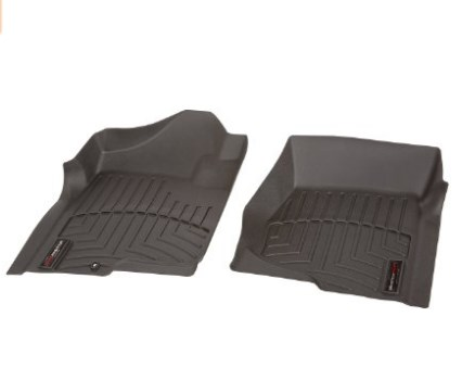 WeatherTech Custom Fit Front Floor Liners – High Density, Rigid Core with Surface Friction, Easy to Clean, Tray Style Mats
