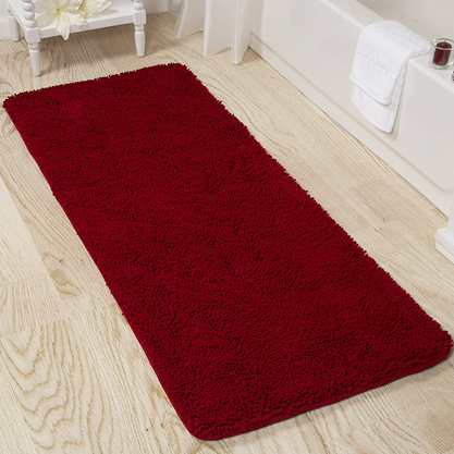 Bedford Home Shag Bathroom Rug