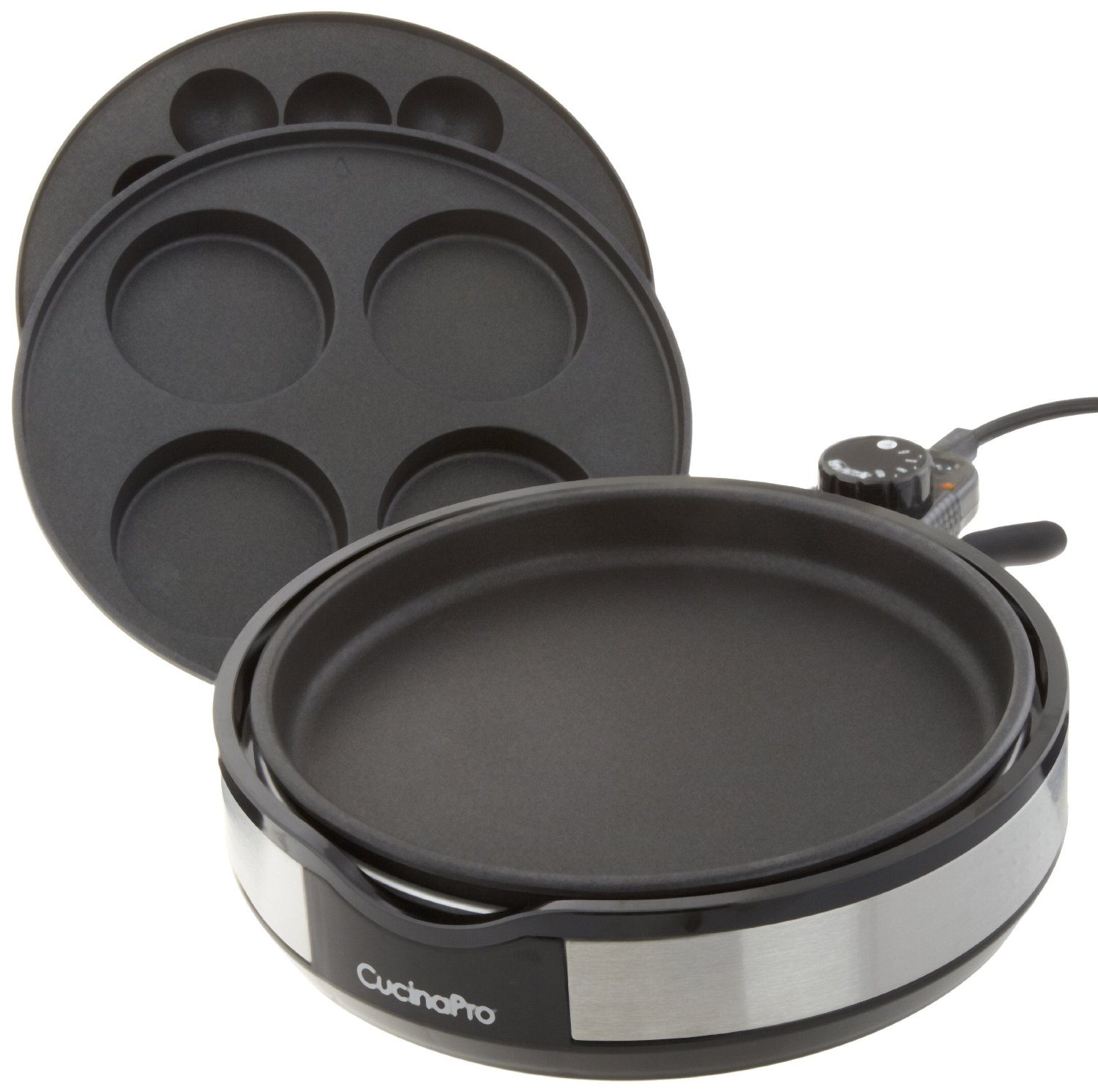 CucinaPro Multi Baker Deluxe Electric Skillet