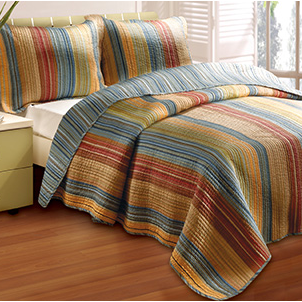 Greenland Home Katy Quilt Set