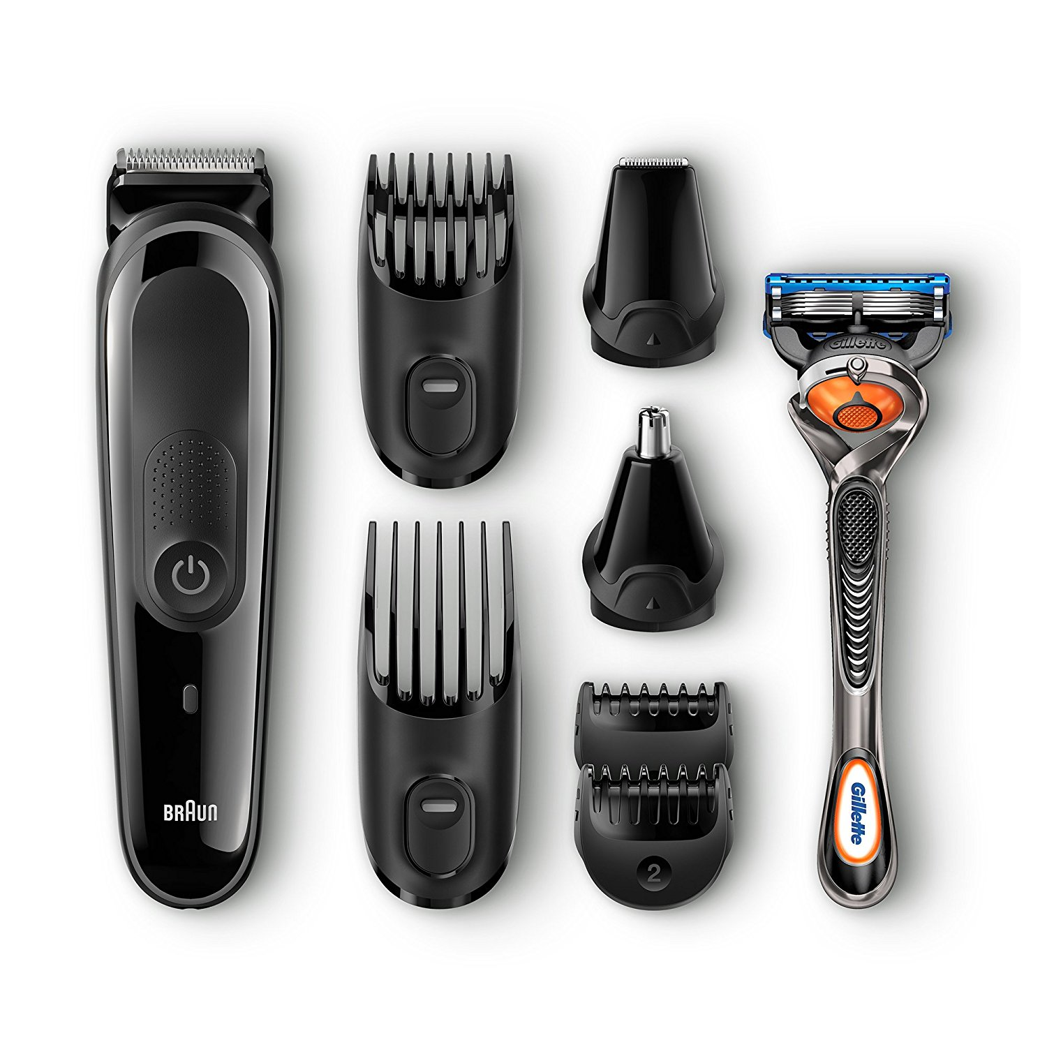 Braun Multi Grooming Kit – 8-in-One Precision Face and Head Trimming Kit