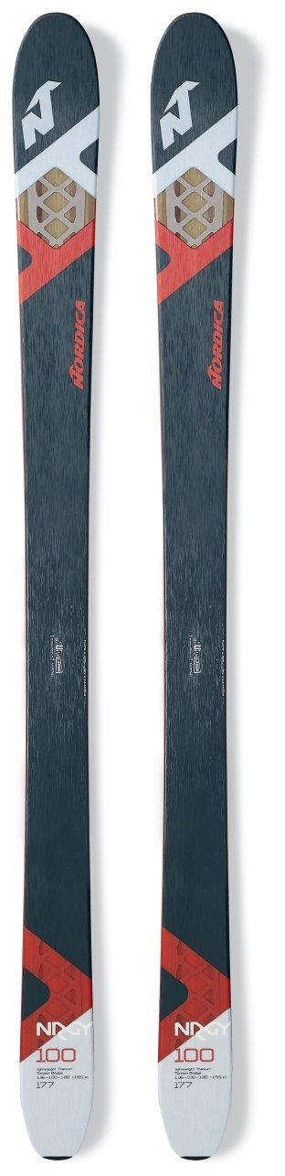Nordica All Mountain NRGY 100 Flat Skis
