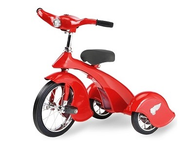 Morgan Cycle Retro Style Red Bird Steel Trike