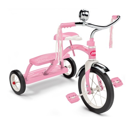 Radio Flyer Classic Dual Deck Tricycle For Girls
