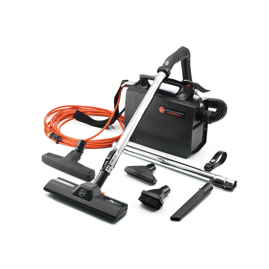 Hoover Commercial Portapower Lightweight Commercial Canister Vacuum