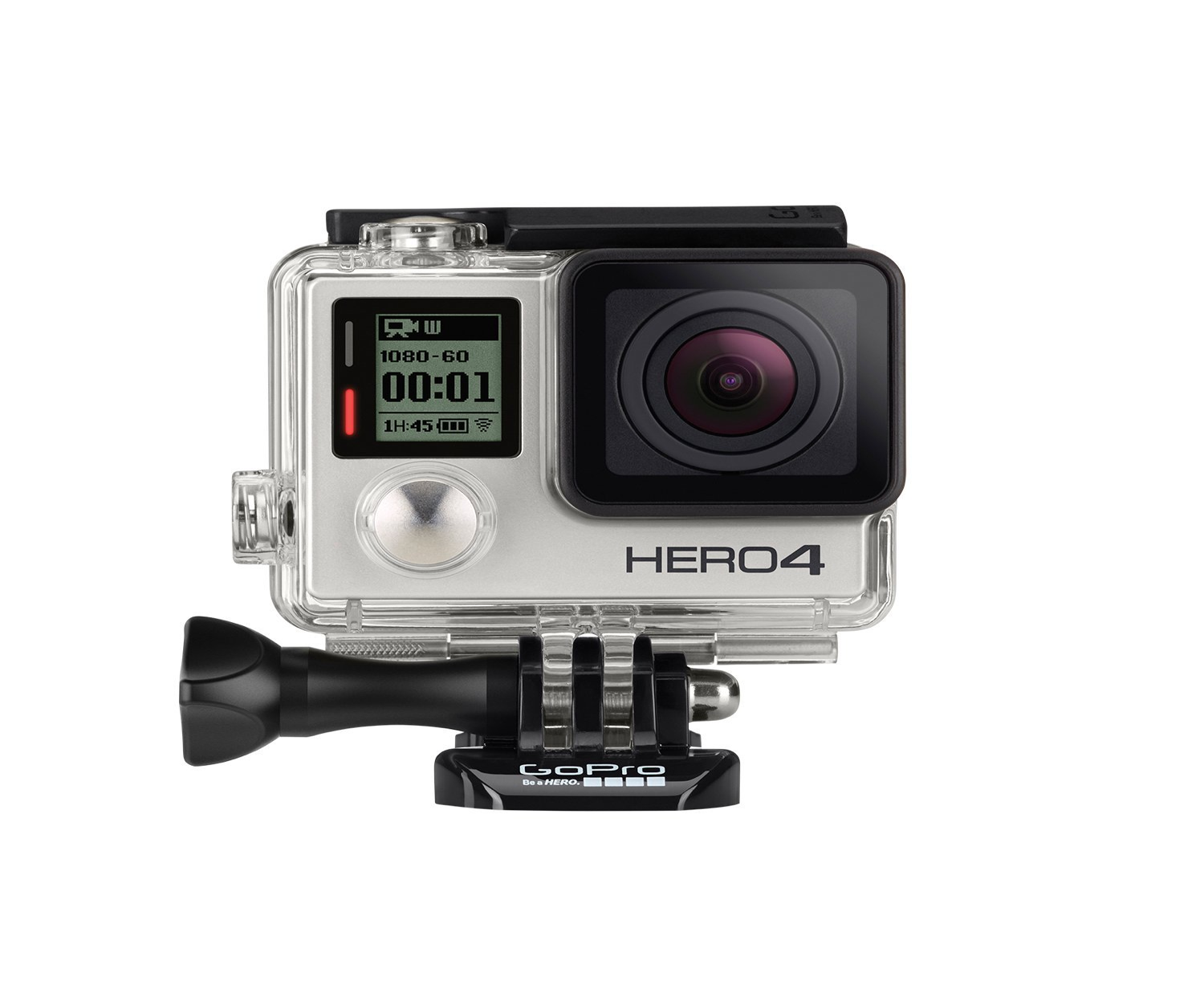 GoPro HERO4 Silver, Touch Display, Smart Remote
