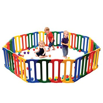 Kaplan Large Magic Panel Play Yard