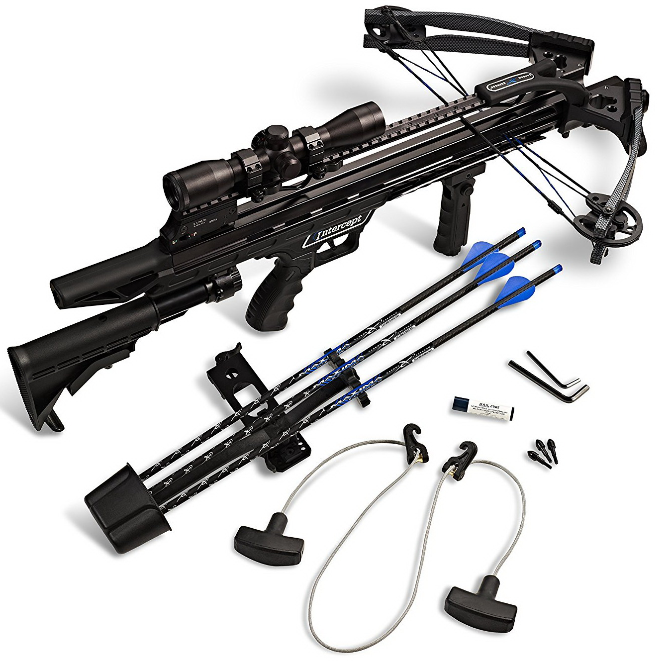 Carbon Express Intercept Axon Ready-to-Hunt Crossbow Kit