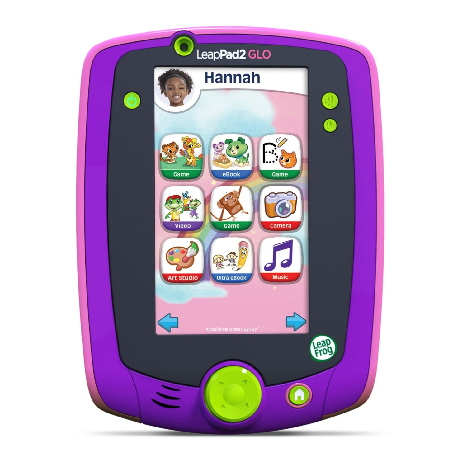 LeapFrog LeapPad Glo Tablet for Kids