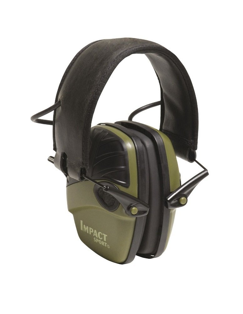 Howard Leight by Honeywell Impact Sport Sound Amplification Electronic Earmuff with Built-In Microphones