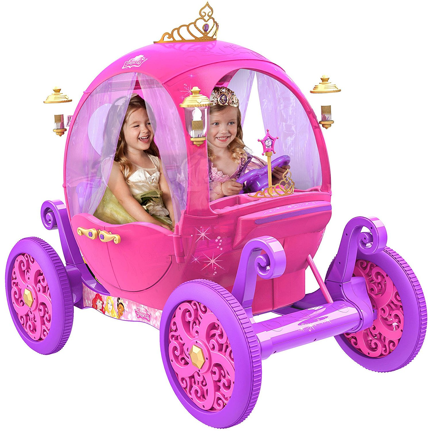 Disney Princes 24V Carriage Ride-On Toy
