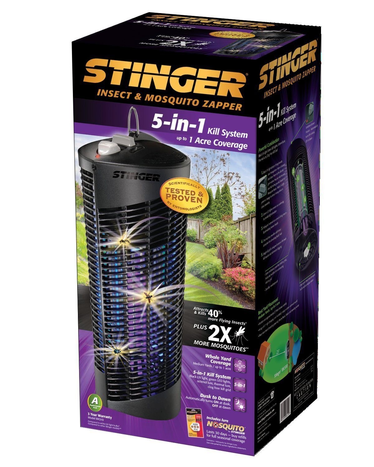 Stinger 5-in-1 Insect & Mosquito Zapper