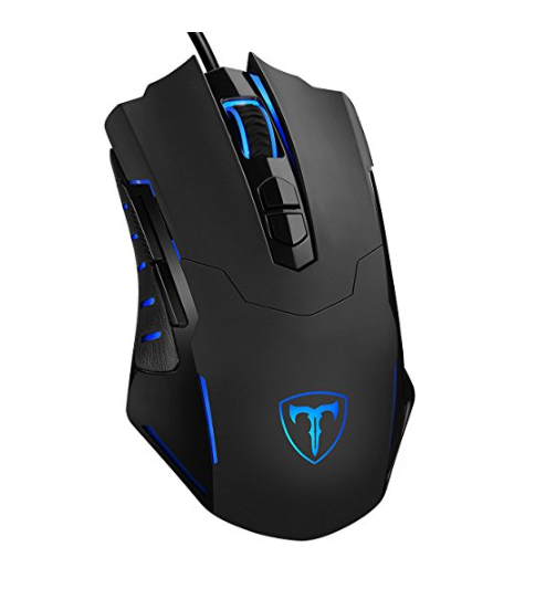 Pictek 7200 DPI Wired Gaming Mouse with 7 Buttons – Ergonomic Mouse for Gaming