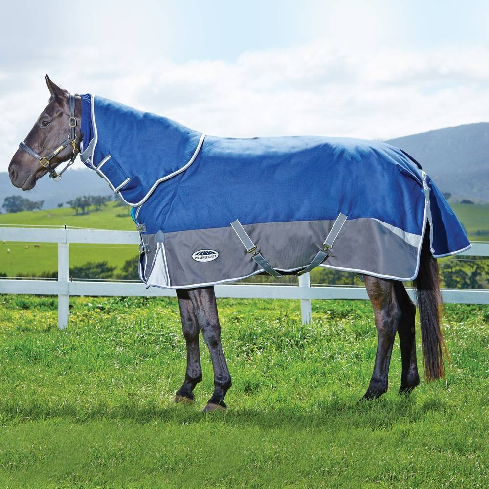 Weatherbeeta Freestyle Turnout Horse Blanket 1200D Detach-A-Neck Heavy – Available in 2 Sizes and 3 Colors