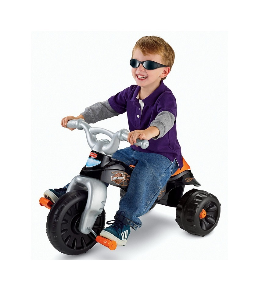 Fisher-Price Harley-Davidson Motorcycles Tough Trike