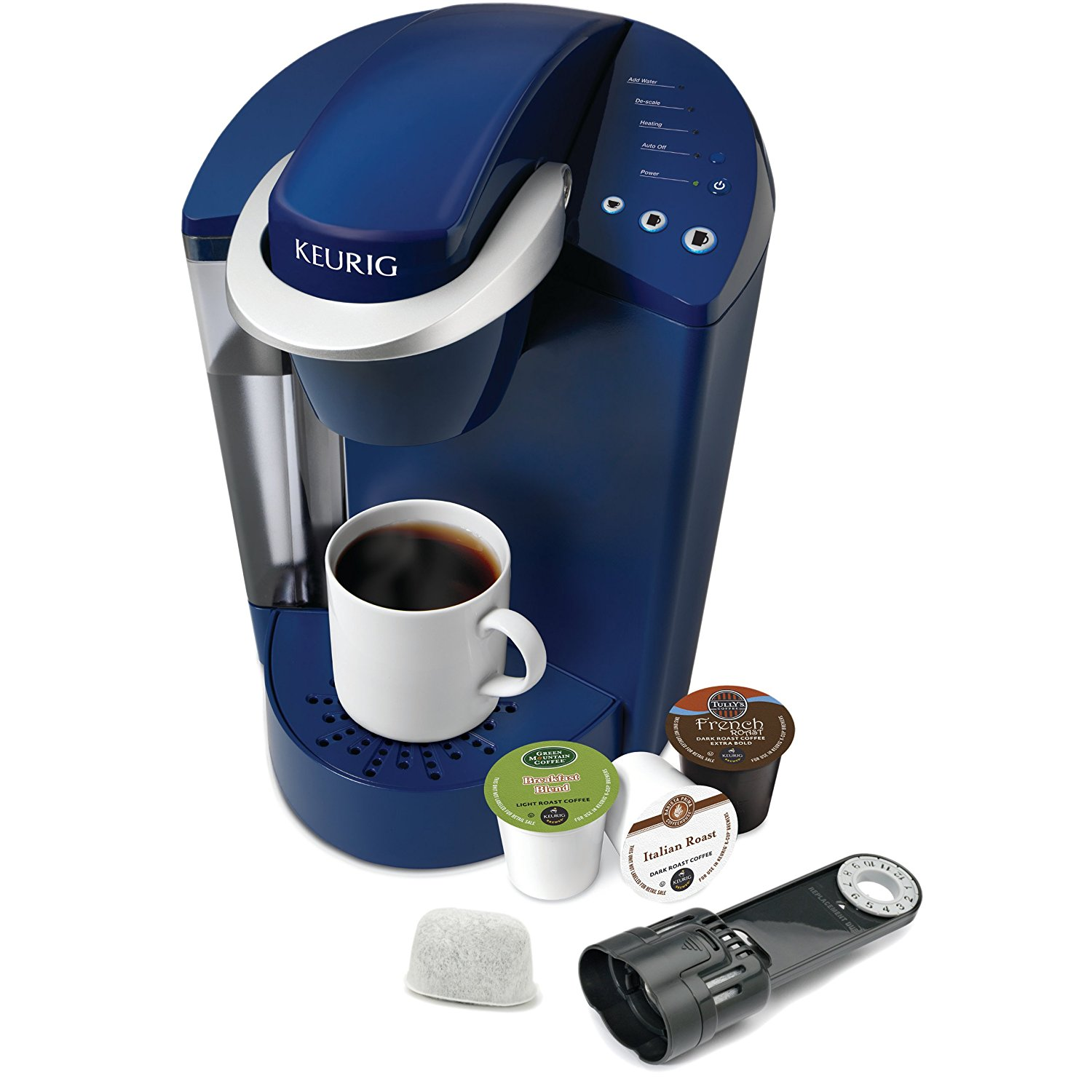 Keurig K55 Single Cup Coffee Brewer with 48 Ounce Water Reservoir – Available in 4 Colors