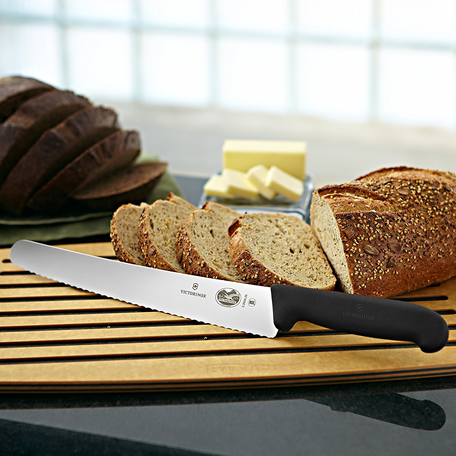 Victorinox Pro Slant Tip Serrated Bread Knife