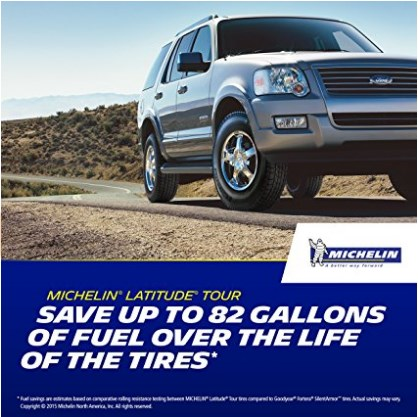 Michelin SUV Tire - Latitude® Long Tread Life Auto Tire