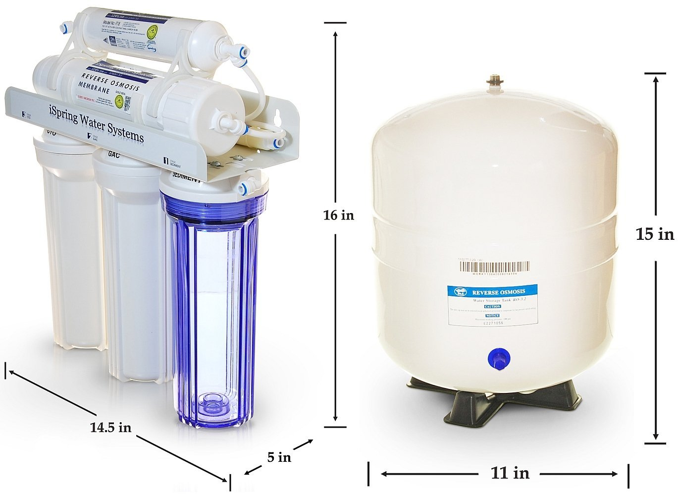 iSpring Reverse Osmosis Water Filtration System