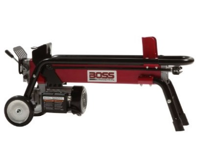 Boss Industrial Electric 7-Ton Log Splitter, 2 HP Motor