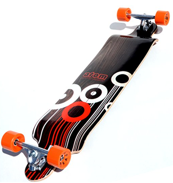 "Atom Longboards 41"" Drop Deck Longboard"