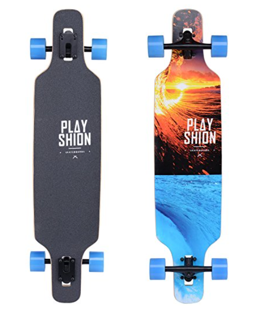 Playshion Freestyle Drop Through Longboard