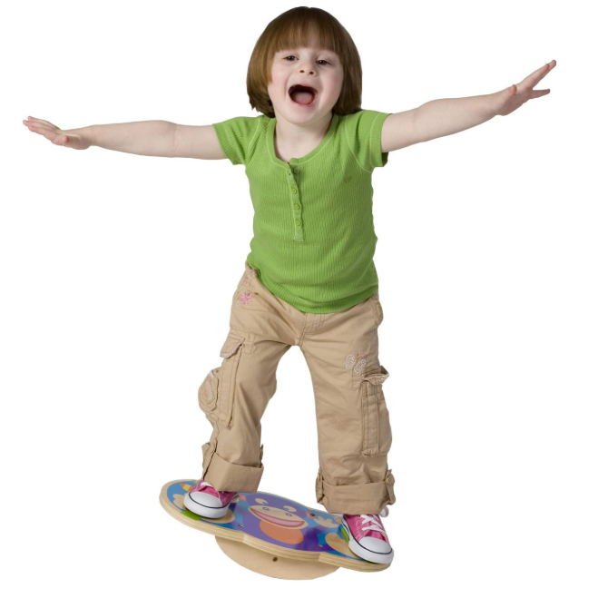 Alex Active Monkey Kids Toddler Balance Board