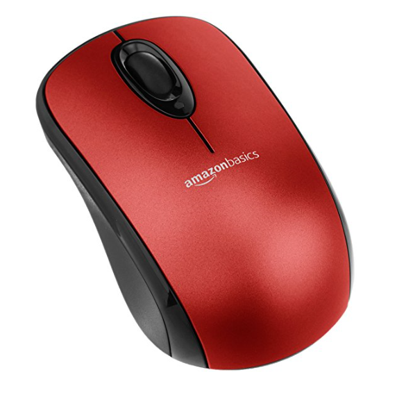 AmazonBasics Standard Wireless Mouse