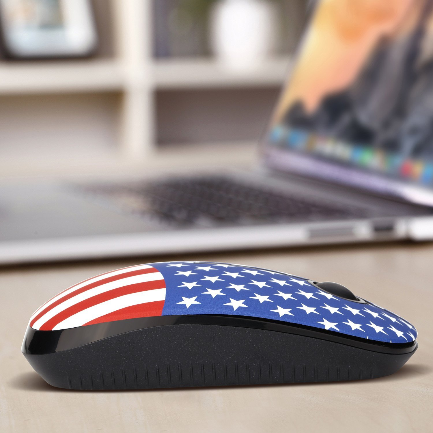 Jelly Comb 2.4G Slim Wireless Mouse with Nano Receiver