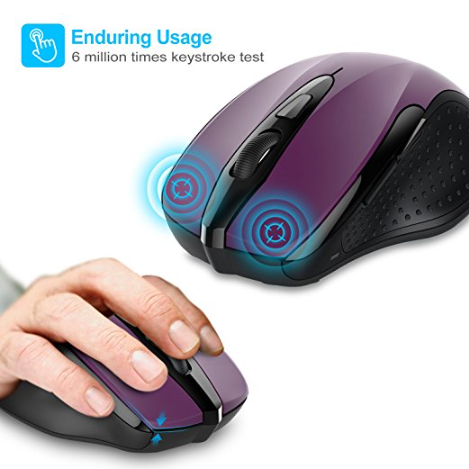 TeckNet Pro 2.4G Wireless Ergonomic Mouse