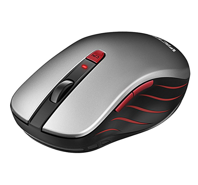 VicTsing 2.4G Optical Mobile Wireless Mouse with Nano USB Receiver – Available in 2 Colors