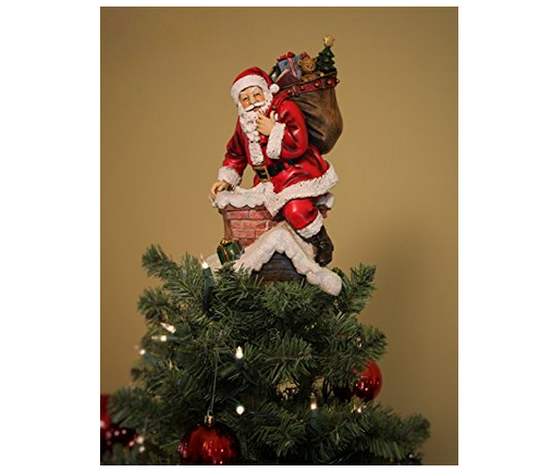 Summit Arbor LLC Santa Tree Topper