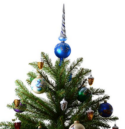 Xmas Ornaments World Christmas Tree Topper