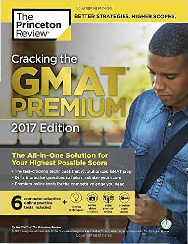Princeton Review GMAT Prep Book