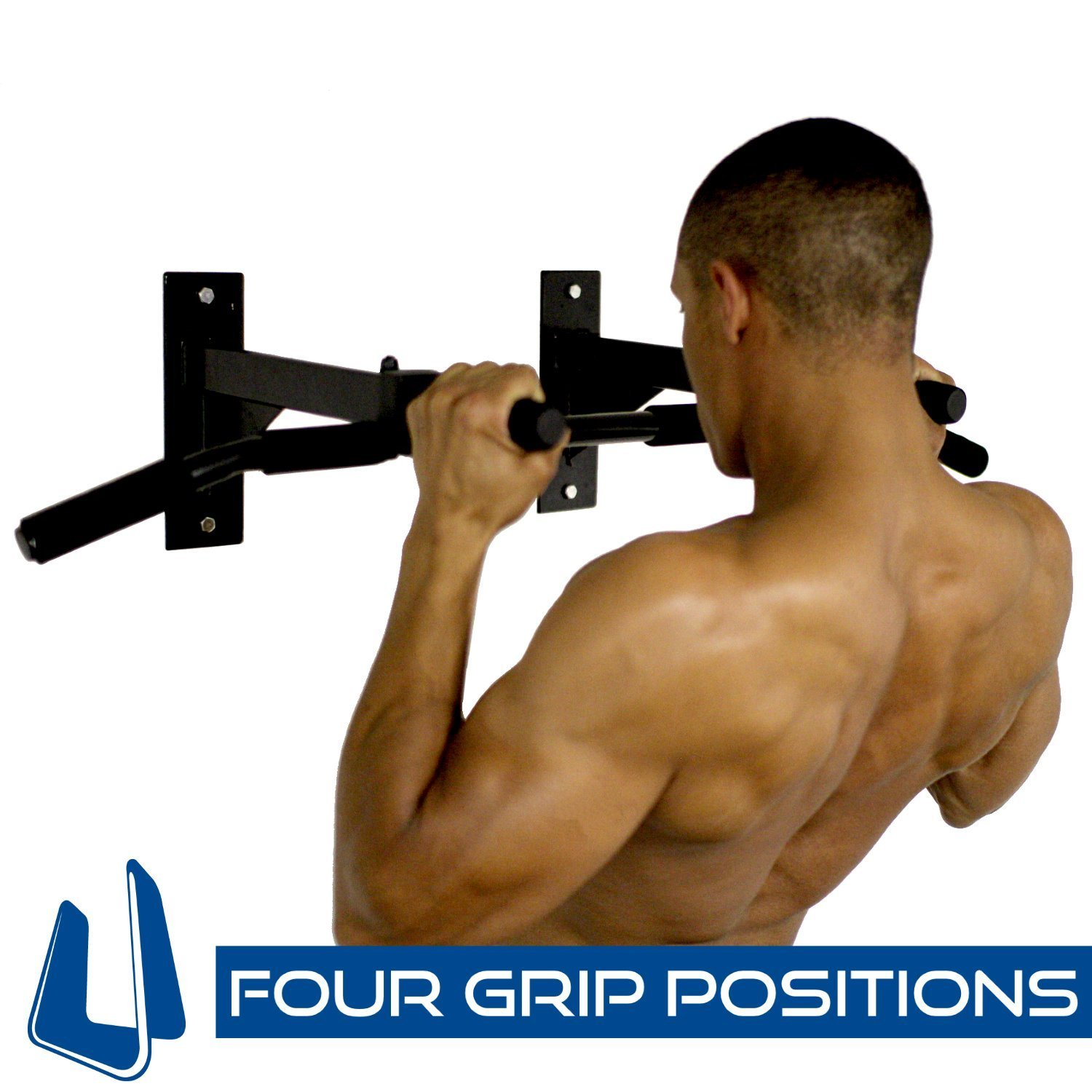 Ultimate Body Press Wall Mount Pull Up Bar