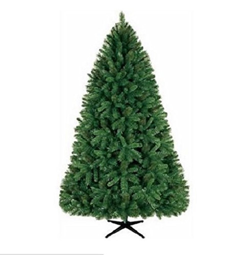 National Tree Majestic Fir Tree in Burgundy Cloth Bag with 35 Clear Lights, 24-Inch