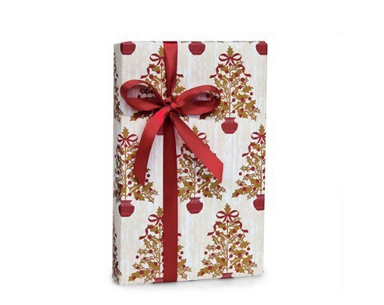Buttons Bags and Bows Elegant Gift Wrap