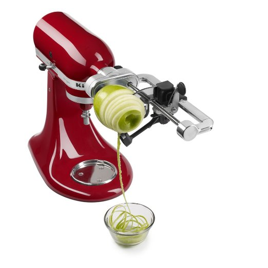 KitchenAid Spiral Slicer with Peel, Core and Slice – Available in 3 Styles