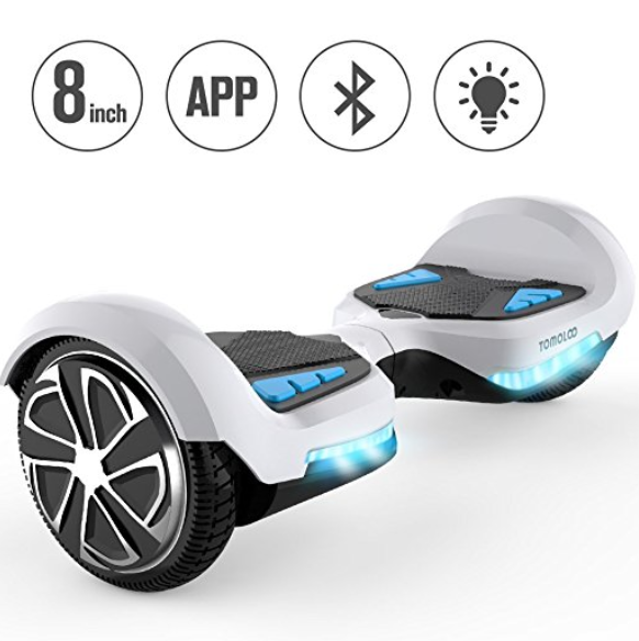 TOMOLOO Bluetooth Hoverboard with Lights